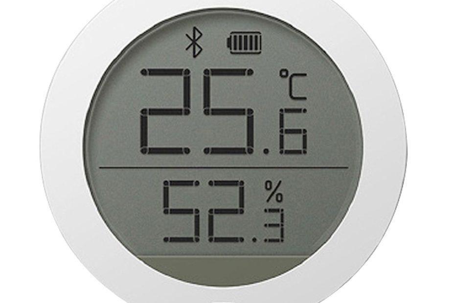 Термометр Xiaomi Mijia Hygrometer Bluetooth белый - Купить дешего